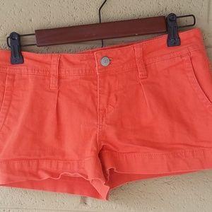American Rag EUC Bright Coral Jean Shorts Size 3